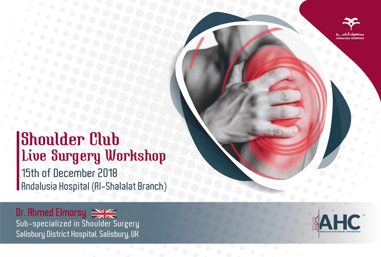 Shoulder club, live surgery workshop