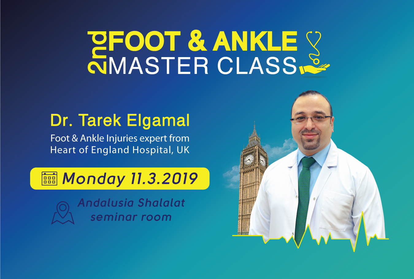 2nd foot and ankle master class Hands on workshop