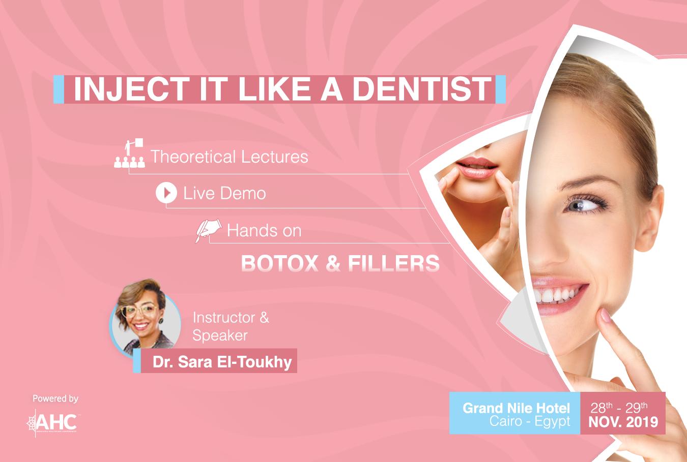 Inject it like a dentist