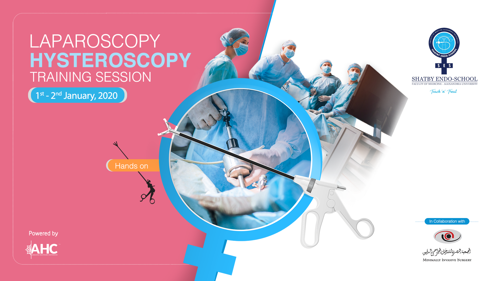 Basic Hysteroscopy & Laparoscopy Training session
